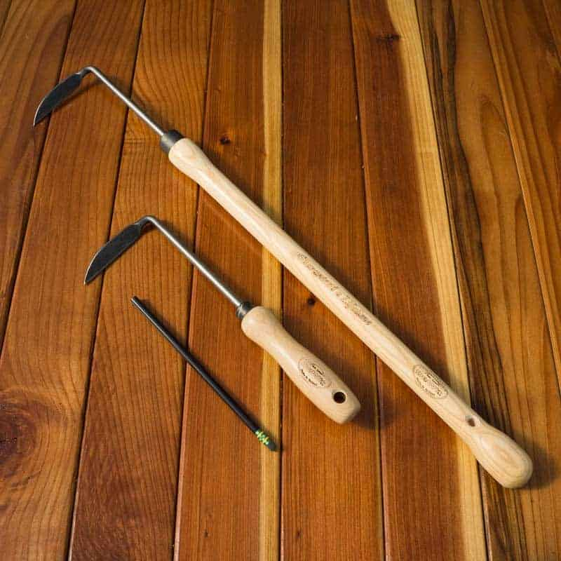 short handled hoe Save on hand hoes with short handle trending price is based on prices over last 90 days forged adze with fiberglass handle $2759  tierra garden 35-1822 carbon steel short handled hoe with tpr soft-grip handle $1336 japanese hand hoe steel blade weeder slicer wood handle plastic hanging loop $863.