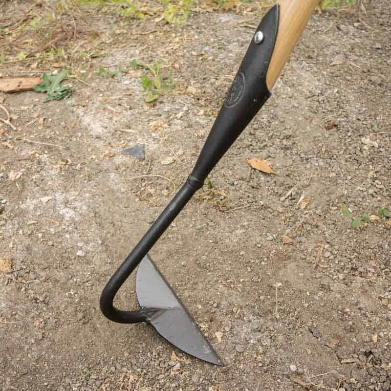 Dewit half moon hoe the tool merchants for Best garden tools brand