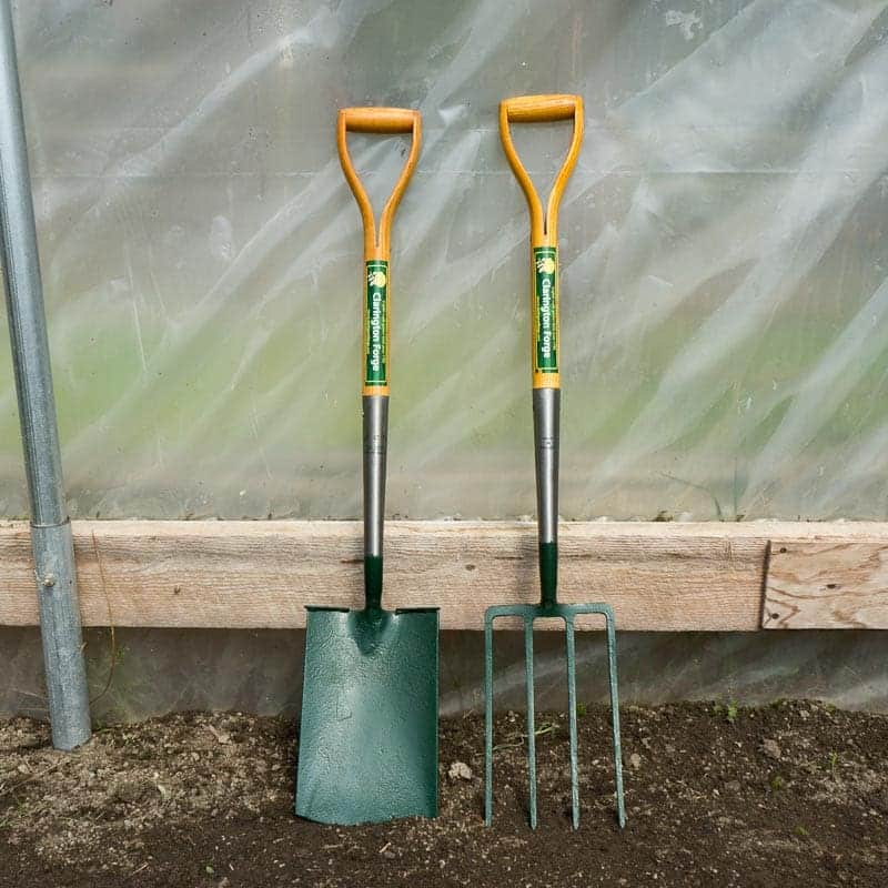Clarington forge spade and fork set the tool merchants for Garden fork and spade set