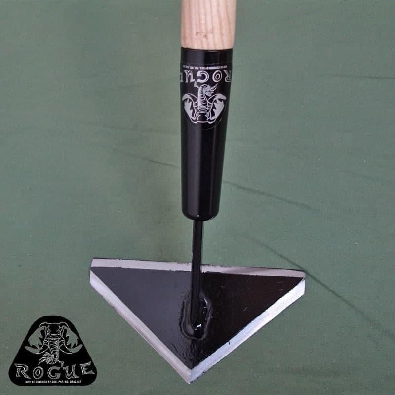 Triangle Hoe - best weeding tool