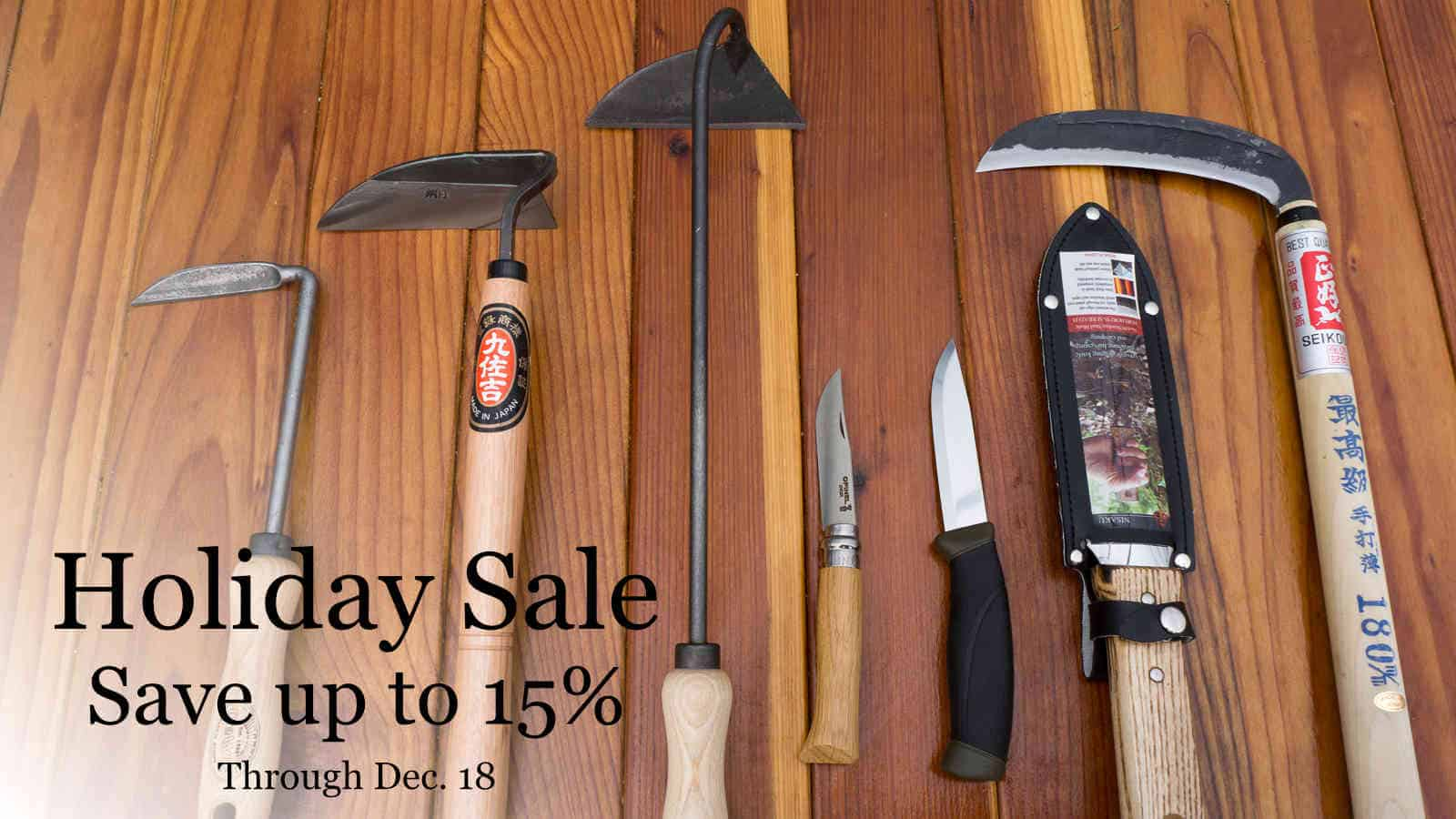 Quality garden tools on sale gear forum at permies for Gardening tools on sale